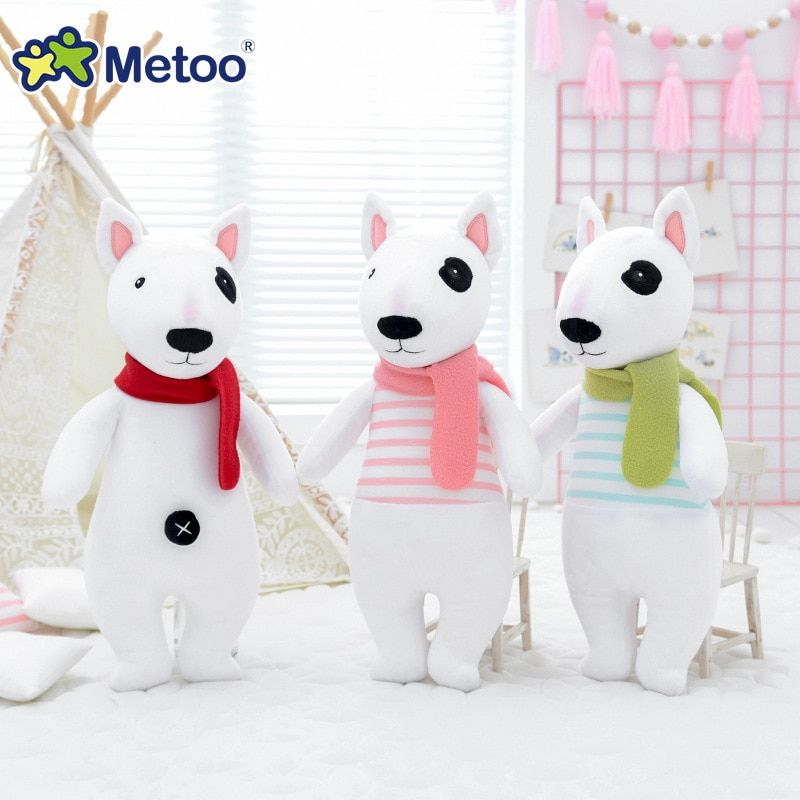 Holiday Kids Plush Toys 2020 Christmas Dogs Metoo Doll Plush Toys For Girls Baby Cute Kawaii Dog Soft Cartoon