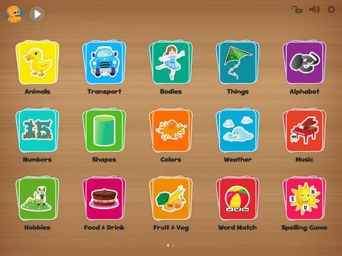 Kids Flashcards For Ipad Free Flashcard App Flashcards Flashcards For Kids