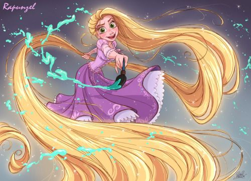 The Art of Tangled • Rapunzel Design 10 David Gilson | Digital ...