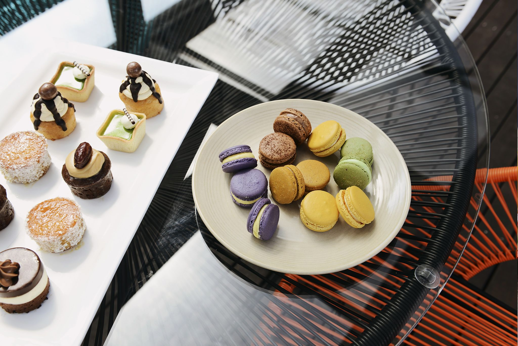 Delicious sweet treats on the Pool Deck at Rydges on Swanston.