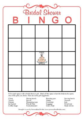 how to get free printable bridal showers bingo cards bridal shower bingo from personalized brides
