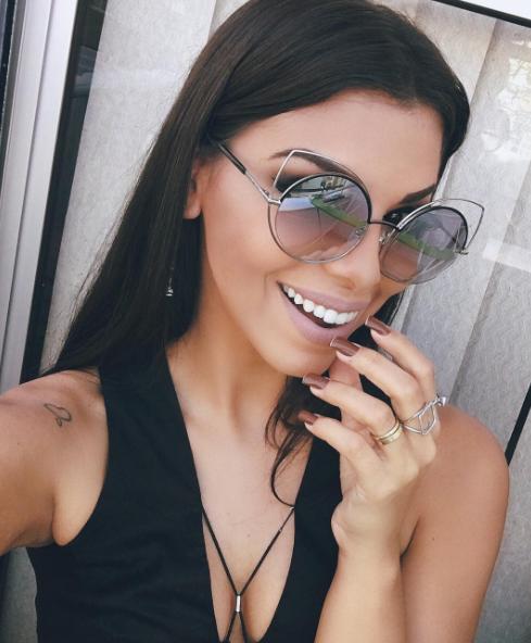 66e5693d1e918 Modelo indispensável para as amantes de óculos com formato gatinho ❤   MarcJacobs na linda da  evelynregly  envyotica  evelynregly  sunnies   sunglasses   ...