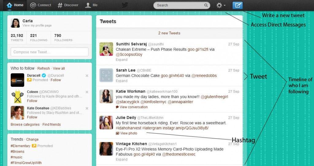Understanding Twitter Timeline Business Pinterest Timeline