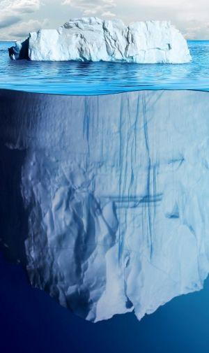 氷山の一角のiPhone壁紙 | 壁紙キングダム スマホ版