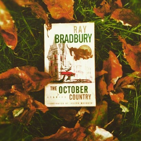 """You are now entering The October Country. Happy October, everyone!!  #autumn #autumnleaves #fall #happyoctober #favoritebooks #raybradbury #theoctobercountry #autumnpeople"" Photo taken by @theautumnpeople on Instagram, pinned via the InstaPin iOS App! http://www.instapinapp.com (10/01/2015)"