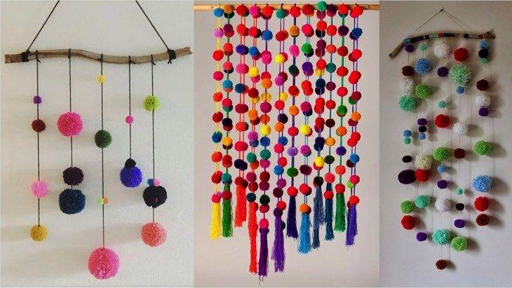Craft Wall Decoration Ideas 9 Decorewarding Diy Wall Hanging Crafts Wall Hanging Crafts Diy And Crafts Sewing