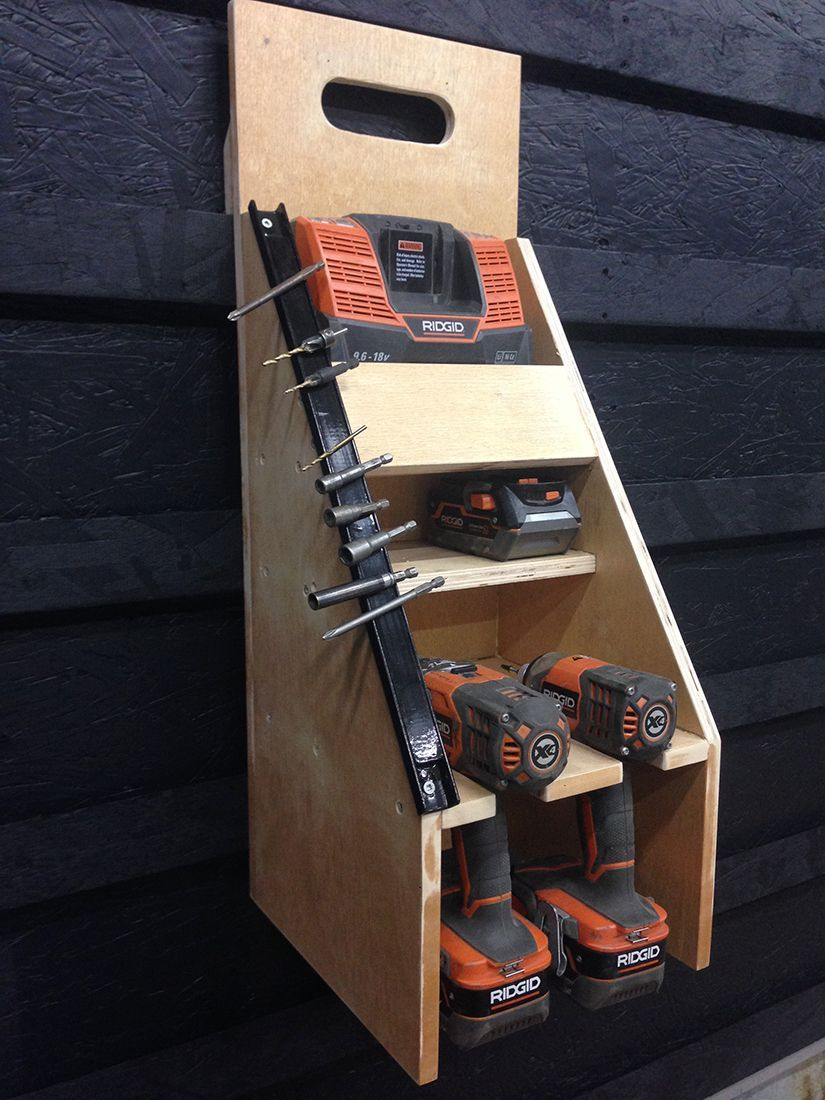 French Cleat Drill Driver Cabinet Do It Yourself More On Good Ideas And DIY