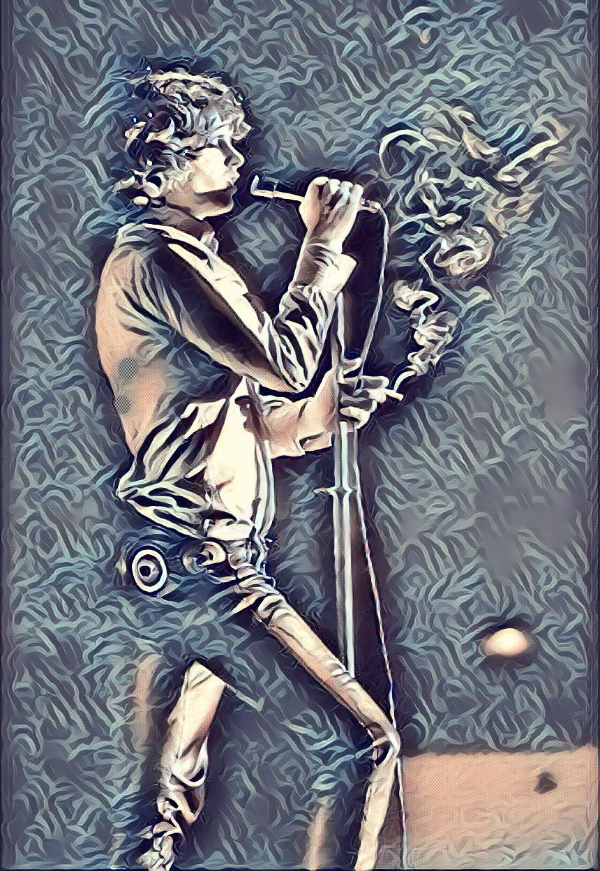 Jim Morrison of The Doors Digital Art | Digital Art | Pinterest ...