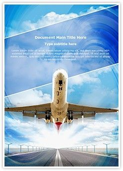 Airplane takeoff word document template is one of the best word airplane takeoff word document template is one of the best word document templates by editabletemplates toneelgroepblik Images