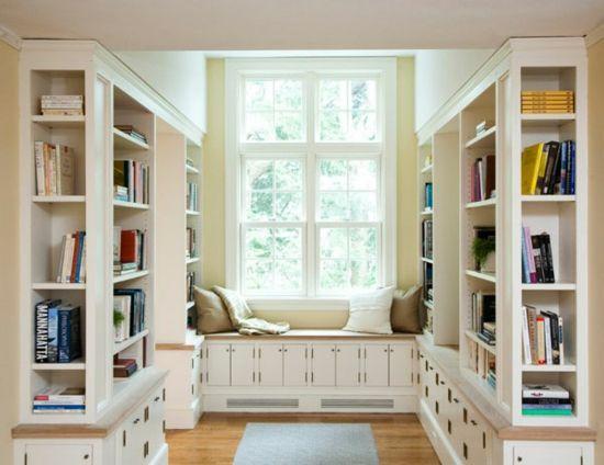 Sitzbank vorm fenster library ideas for Lesezimmer einrichten ideen
