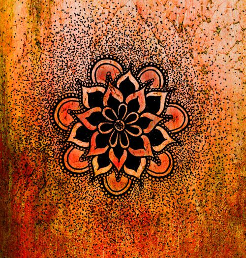 Lotus Mandala A Lotus To Represent A New Beginning Or A Hard Time