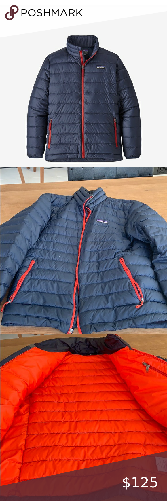 MENS PATAGONIA LIGHT WEIGHT PUFFER JACKET in 2020