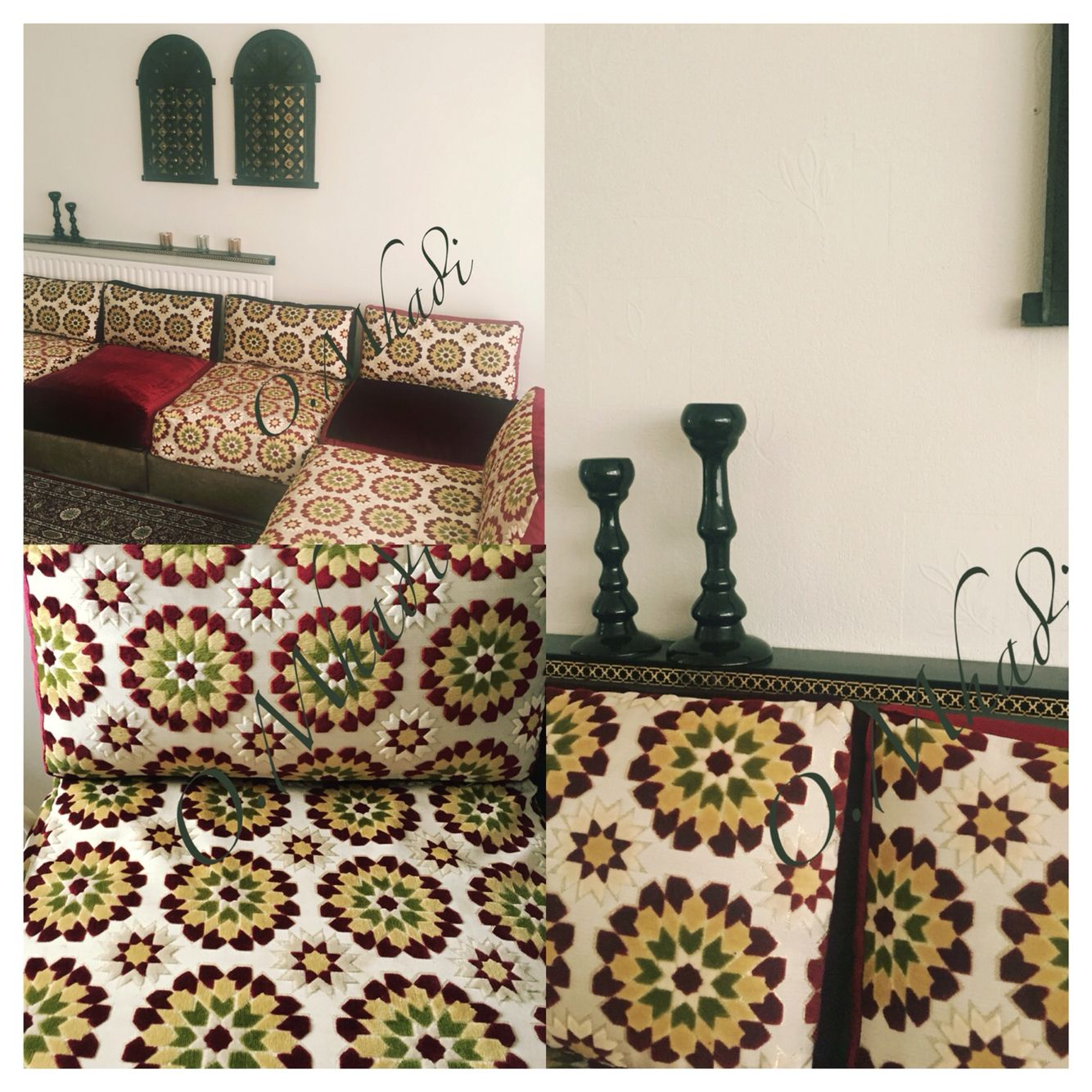 With Geometric Islamic Upcycled To Sofa Style Ikea A Moroccan 80OPNknwXZ
