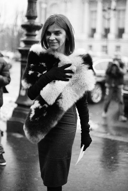 Carine Roitfeld in Vogue España, by Juanlu Real
