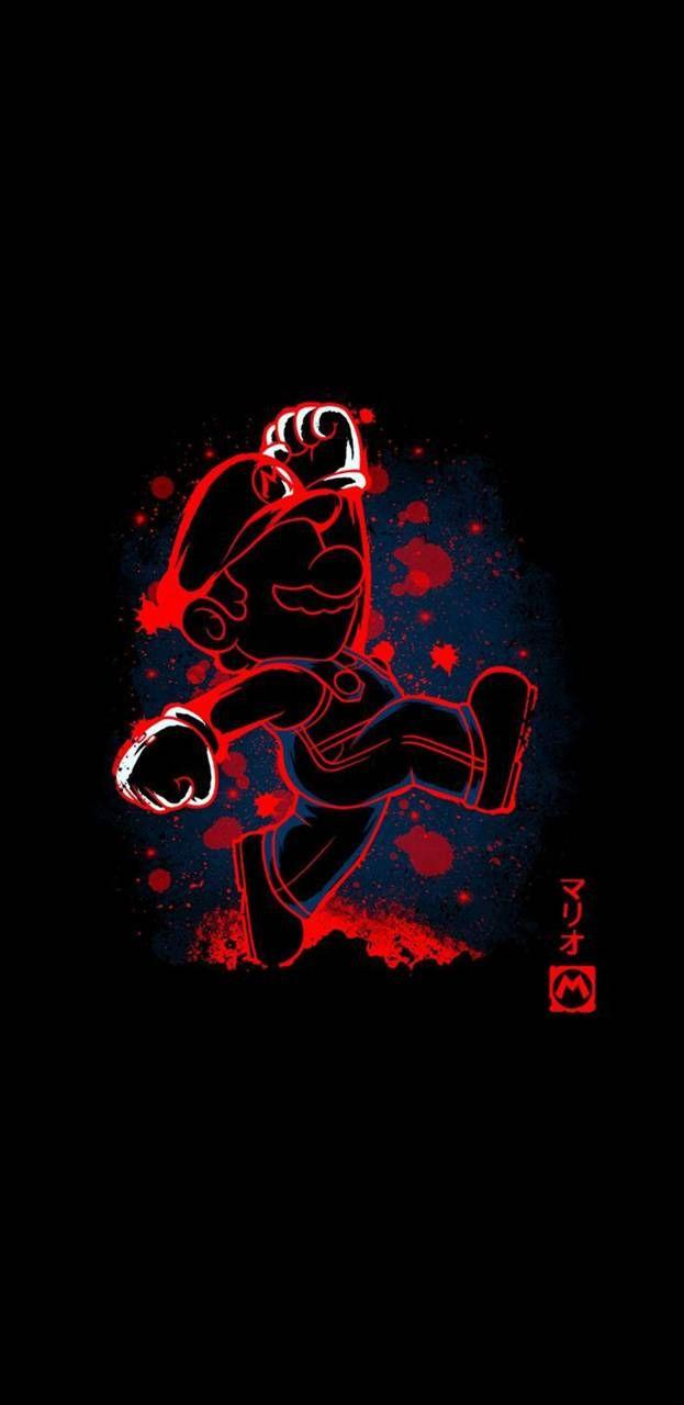 AMOLED Mario wallpaper by Studio929 - d3 - Free on ZEDGE™