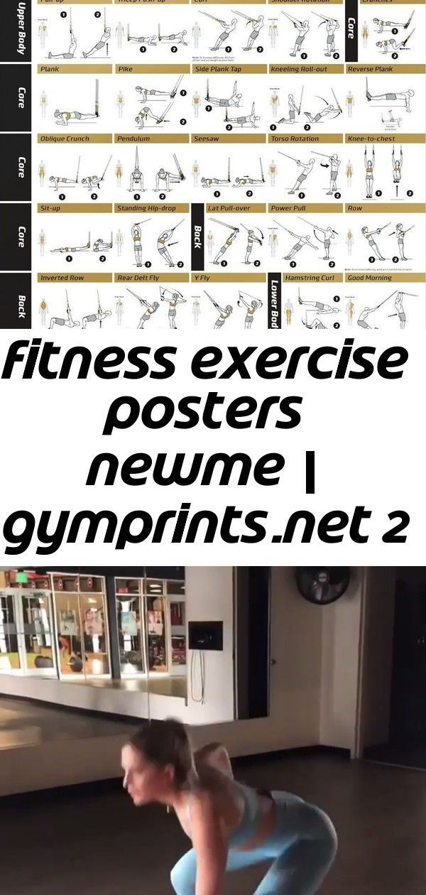 Fitness Exercise Posters NewMe | GymPrints.net Whit (whitneyysimmons) seriously smashes HIIT. Take 3...