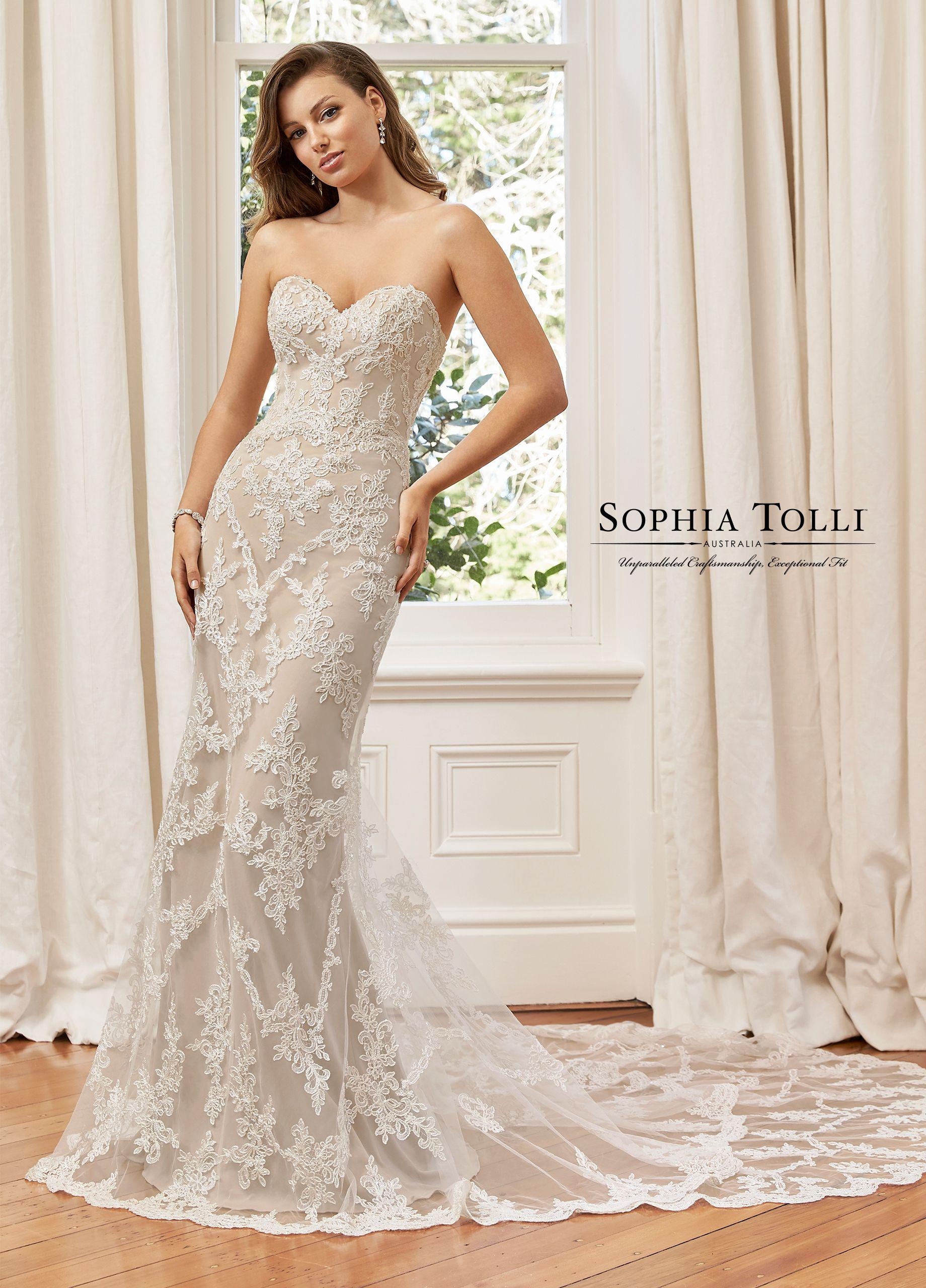 Sophia Tolli   Bridget   Sophia Tolli   Wedding dresses, Bridal ...