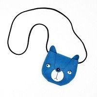 Mini Dressing Täschchen Bär blau