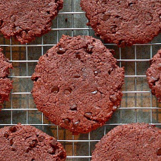 Gluten Free Red Velvet Cookies