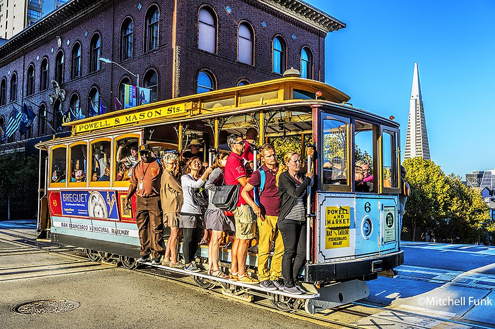 Pin On San Francisco Cable Cars Photographs By Mitchell Funk