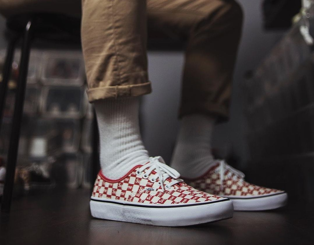 00d494fcae7 SUPREME x Vans Authentic