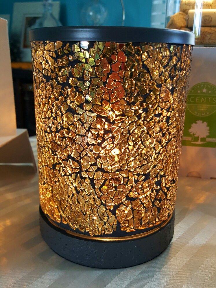 Gold Rush Scentsy Warmer | Scentsy Fall Winter 2016-2017 | Pinterest