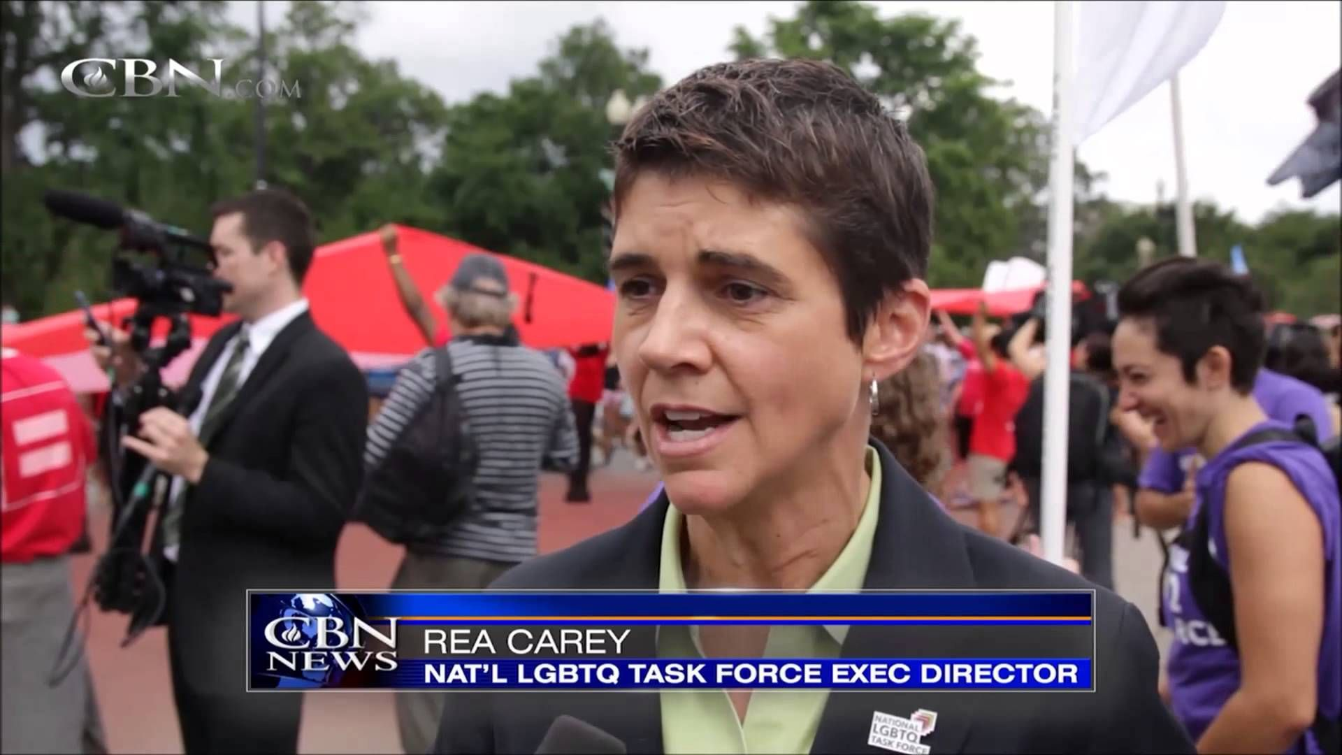 Lesbian Says She Will Hurt Christians Who Disagree with Same-Sex Marriag...