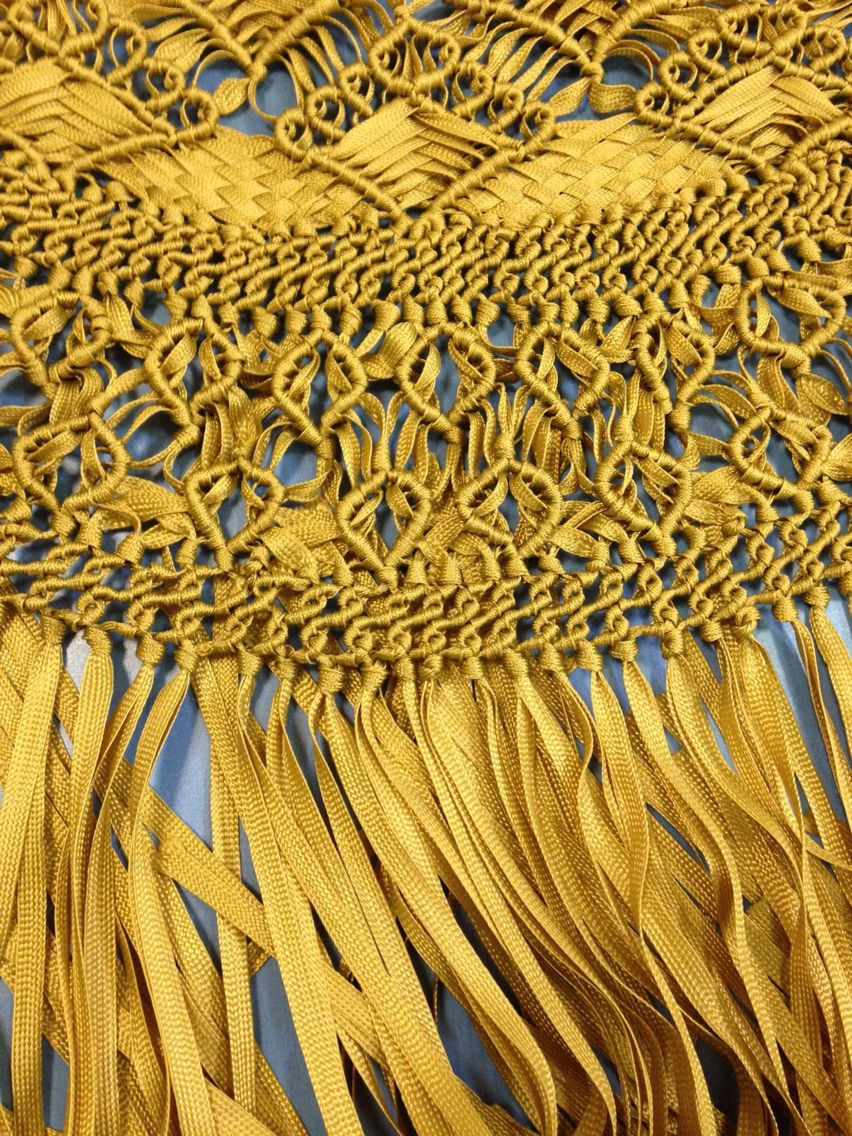Pin by Fina Bernal on Mantones y flecos macramé | Pinterest ...