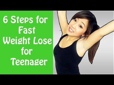 Teenage girl weight loss