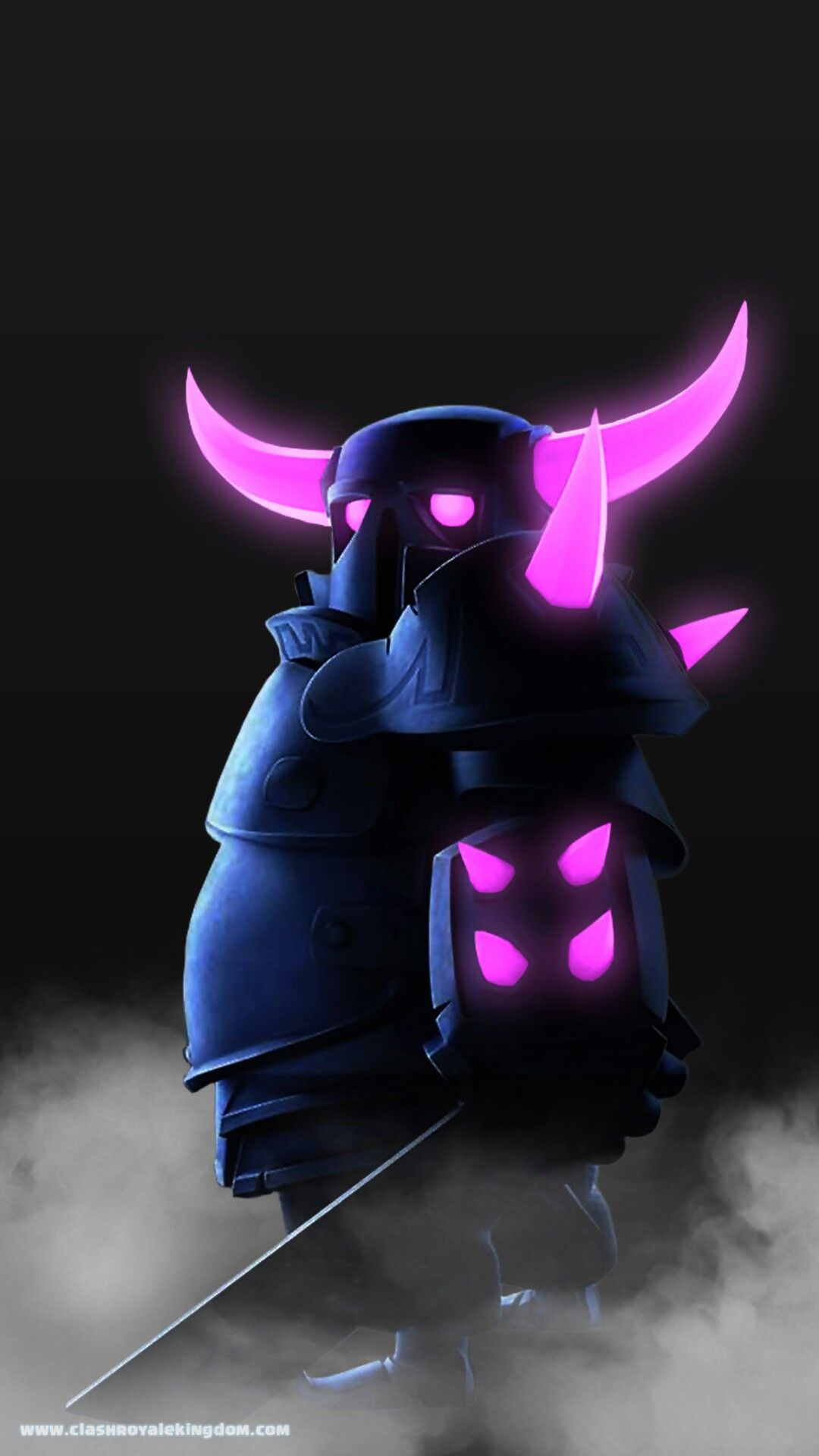 Glowing Pekka Supercell Hd Wallpaper Clash Royale Clash Of Clans Wallpaper