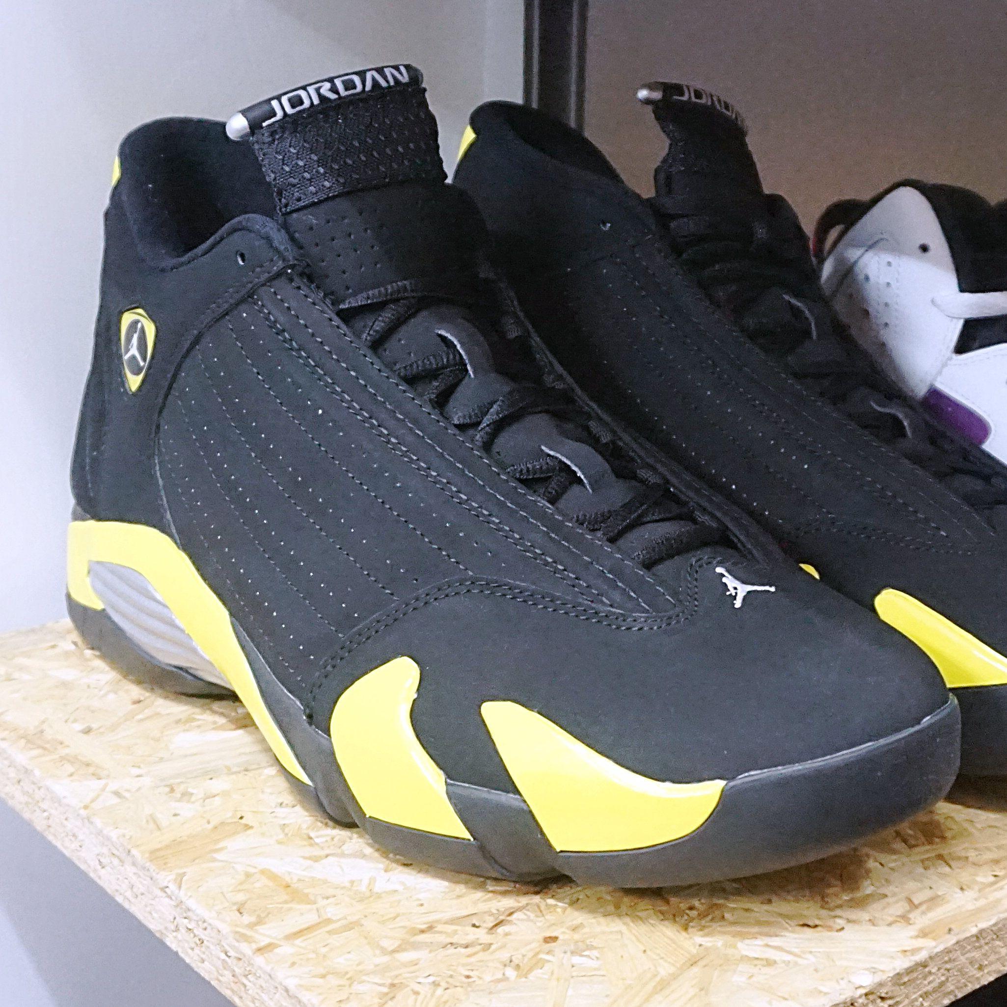 Nike Air Jordan 14 Retro Thunder (487471-070) https://www