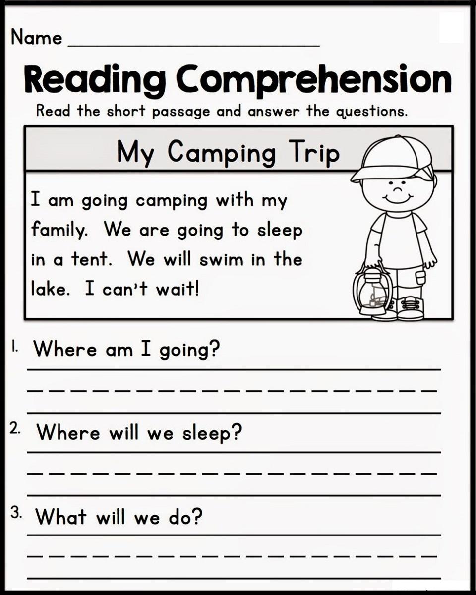 Homework for Kindergarten Worksheets in 2020 (With images