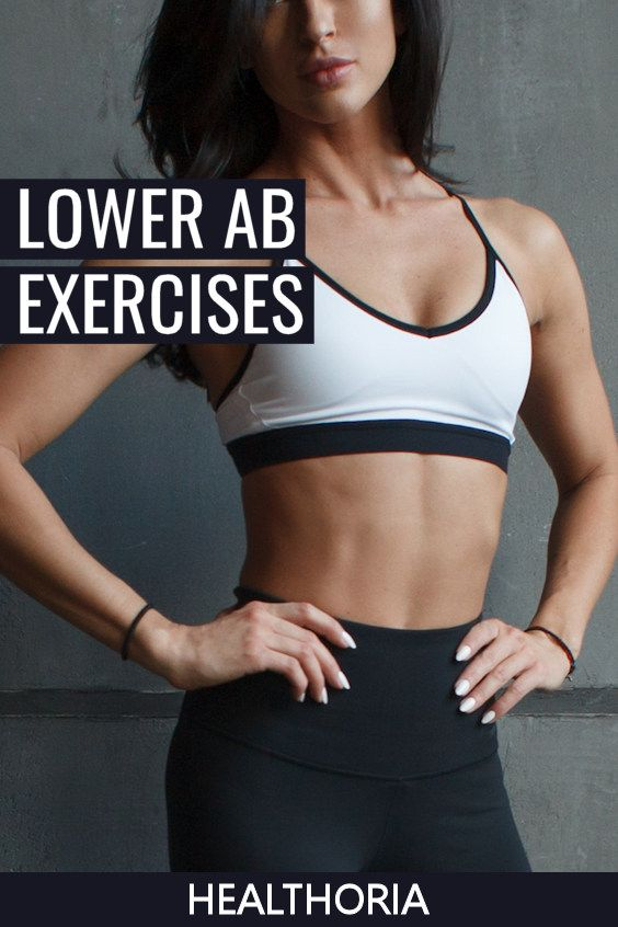 Tightening your lower abs is something most struggle with.  Here's the best low ab exercises for fas...