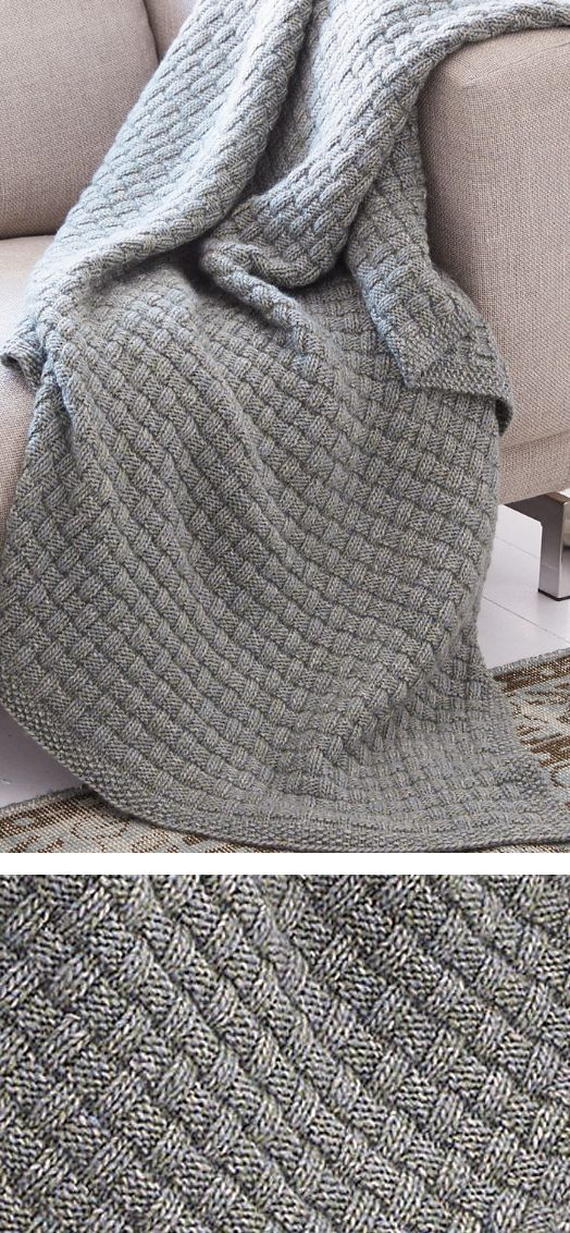 Easy Afghan Knitting Patterns | Pinterest | Manta, Tejidos de punto ...