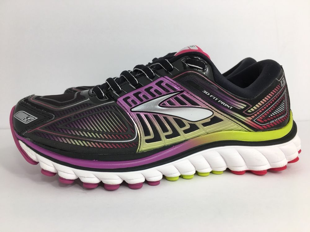 24ee5b1fb5af9 Brooks GLYCERIN 13 Running shoe Black Violet Women s Size 6 M