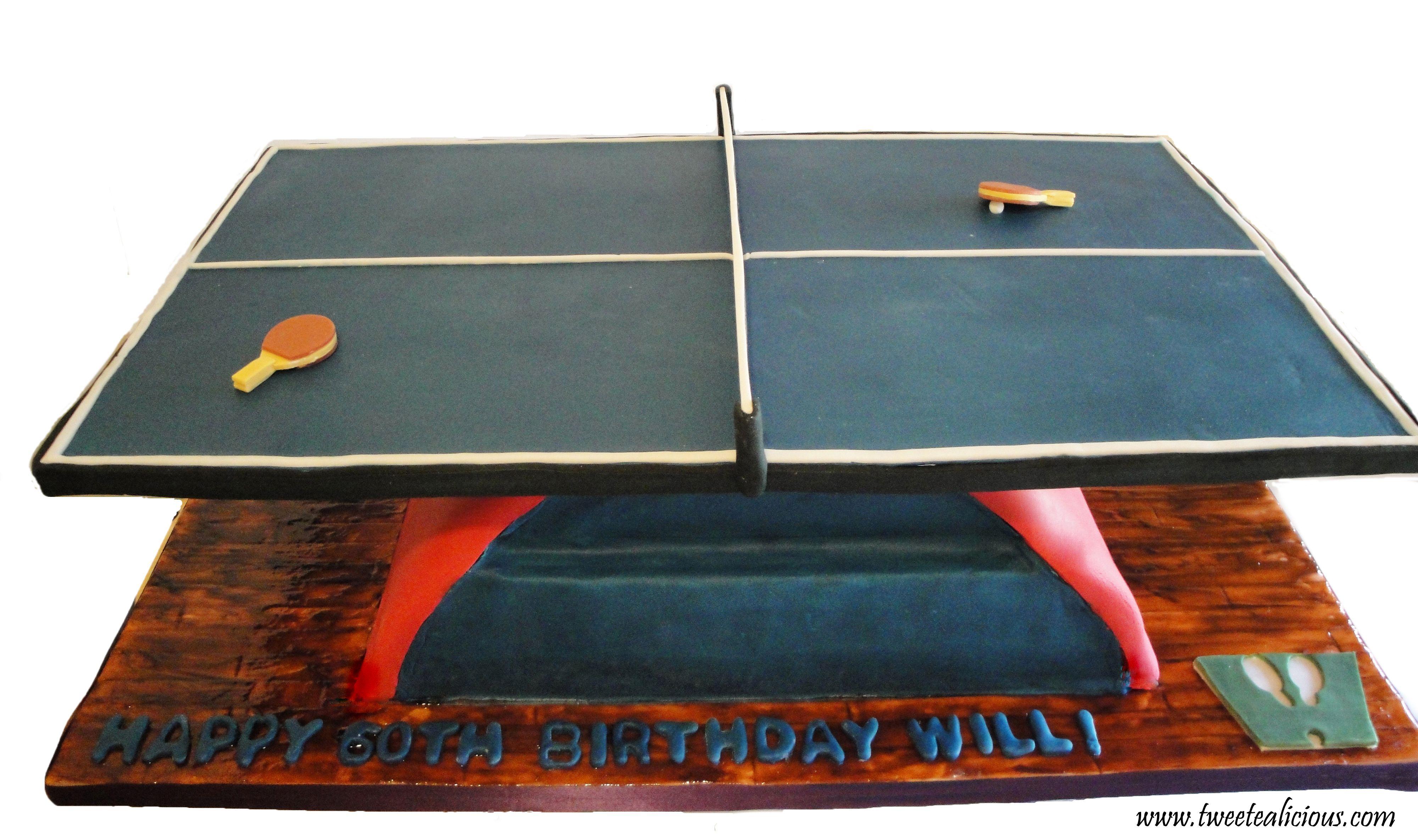 Table Tennis Cake Tennis Cake Table Tennis Cakes For Men