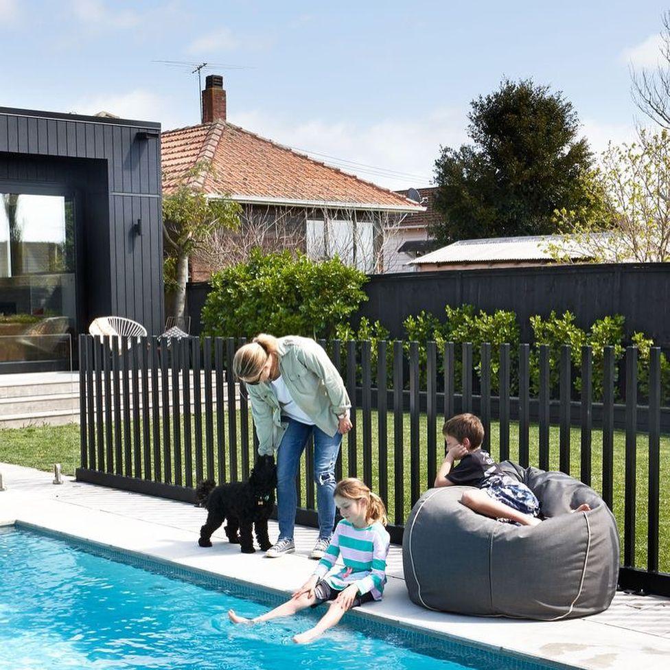 Pool Fence Alternative Pool Fence Diy Pool Fence Backyard Pool Landscaping