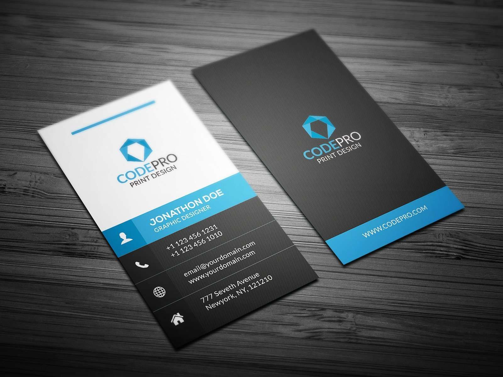 Avery Business Card Template Word Free Vertical Business Card Templ Business Card Template Design Vertical Business Card Design Vertical Business Card Template