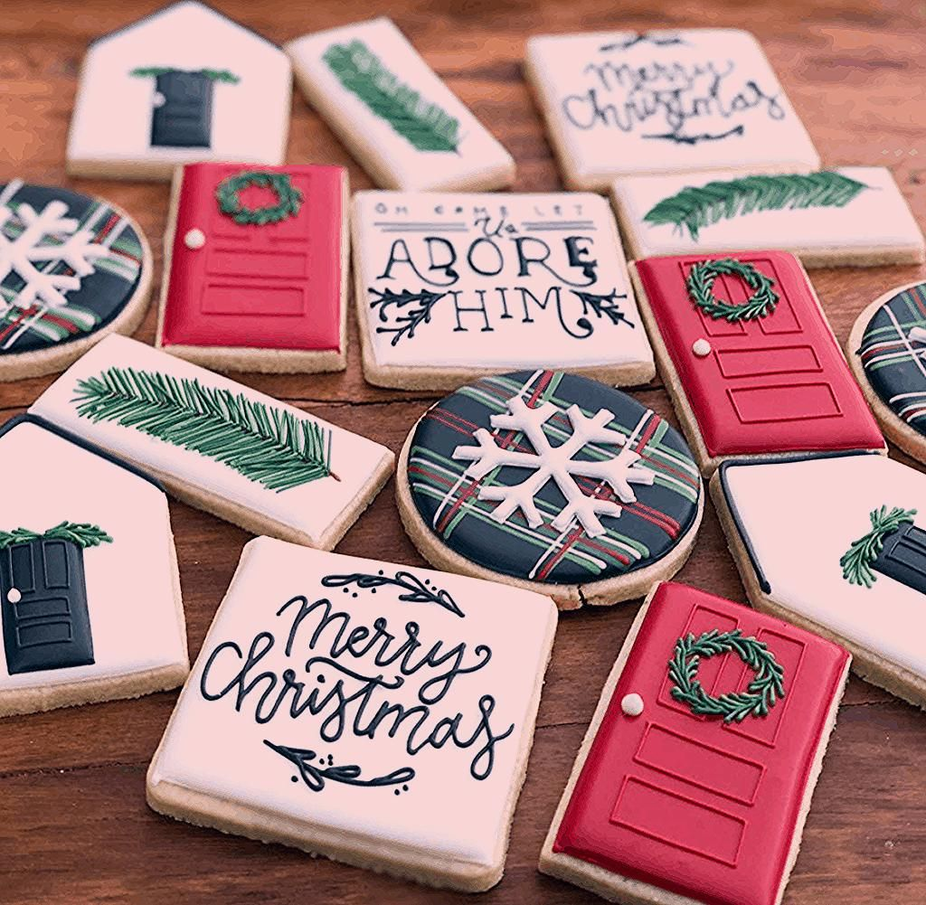 The best fun, decorated royal icing Christmas cookie ideas ...
