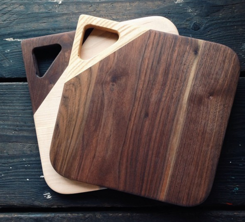 Two Tone Cutting Board Woodworking_Small 도마, 목공예, 가구
