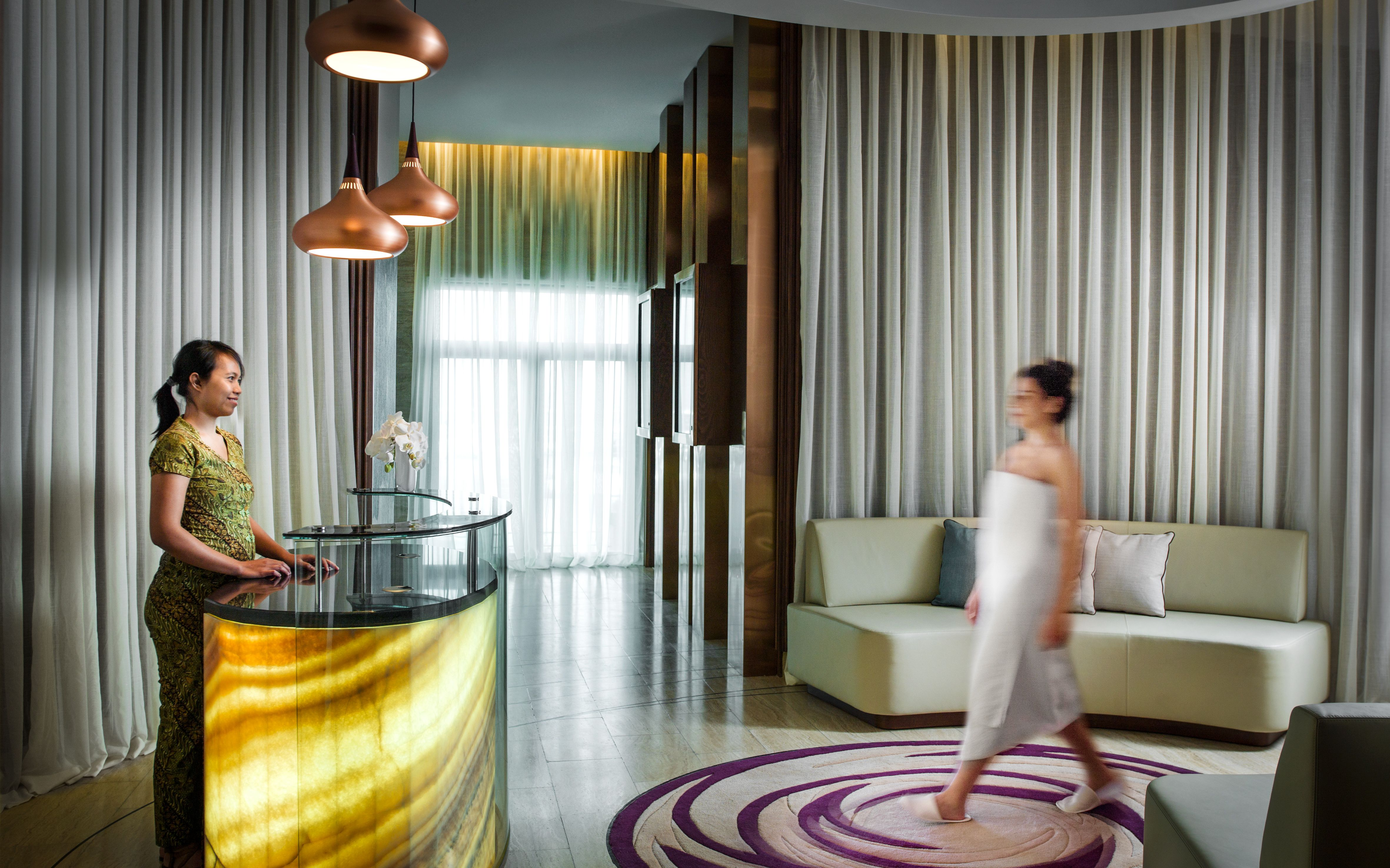Guests Can Take Advantage Of The Day Spa And Wellness Area In Intourist Hotel Baku Which Consists Of A High Tech G Hotel Design Architecture Hotel Decor Hotel