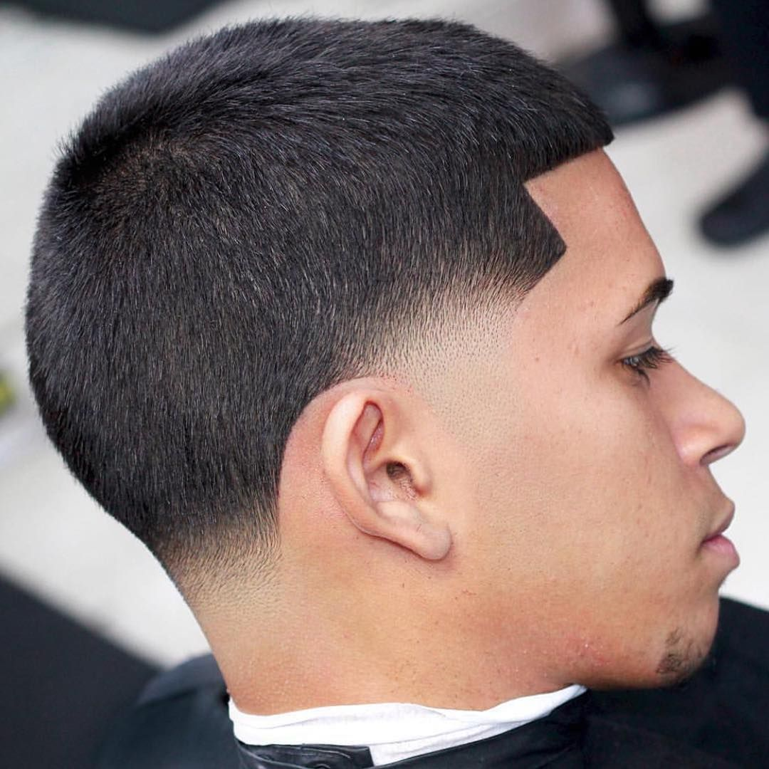 Skin Taper Blow Out Pelo Y Barbas In 2019 Temp Fade Haircut