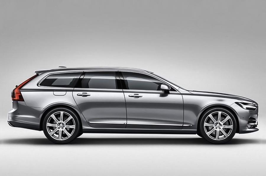 Опубликованы фотографии универсала Volvo V90 Volvo Volvo Wagon Volvo Cars