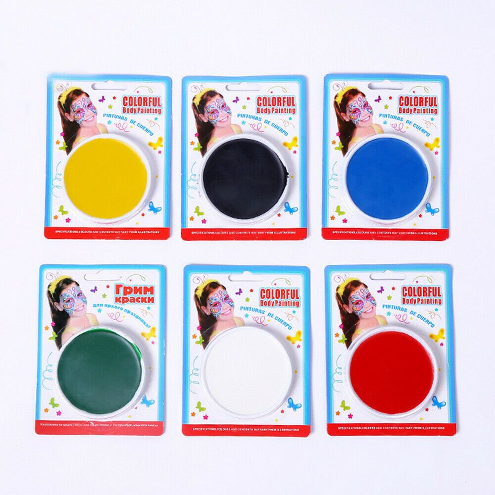 6ml Make Up Face Paint Color Palette Halloween Cosmetics
