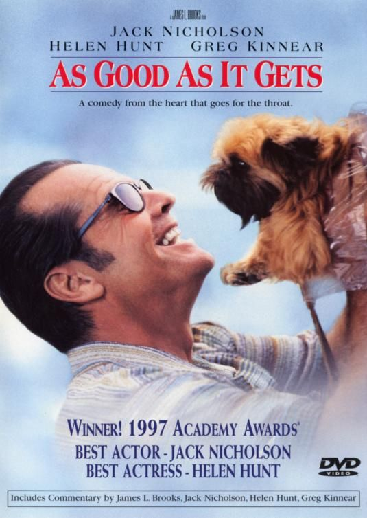 As Good As It Gets 1997 Good Movies Get Movies I Movie