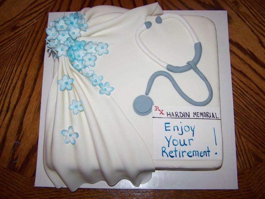 Nurse Retirement Cake Ideas Dessert Retirement Cakes