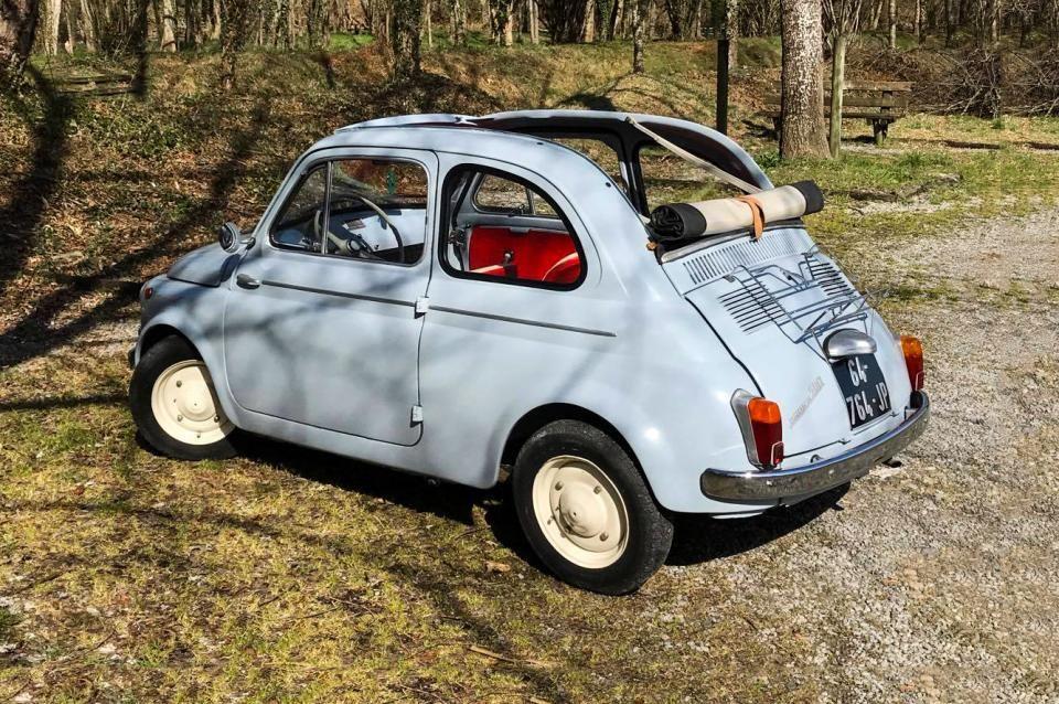 Un Grande Amore Di Me La Vecchia 500 Fiat 500 Fiat 500
