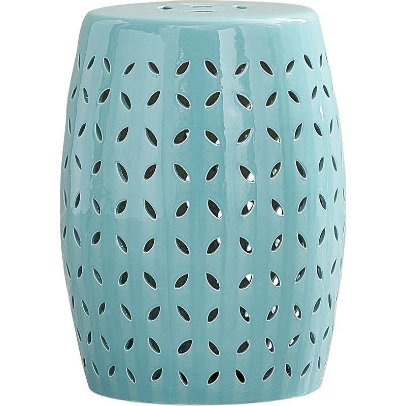 Beachy Turquoise Decor Inspiration Hello Lovely Ceramic Stool Decor Ceramic Stool Turquoise Decor