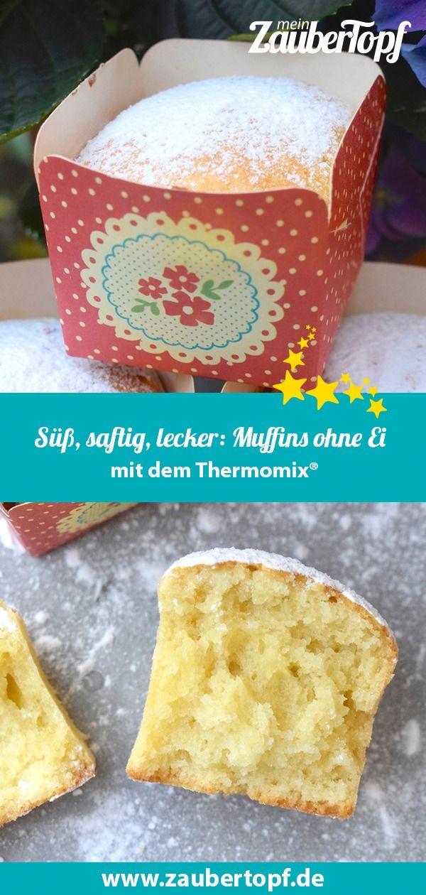 Saftig, süß und lecker: Muffins ohne Ei – Rezept für den Thermomix