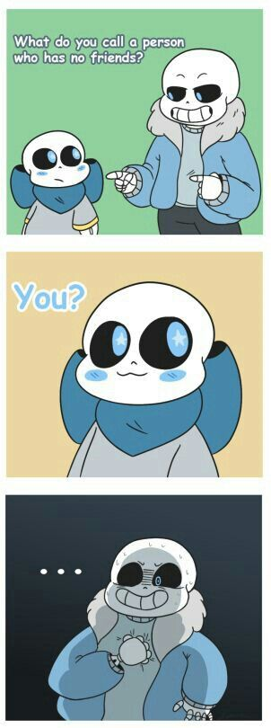 ||R.I.P sans|| blue is cute but a bit savage....